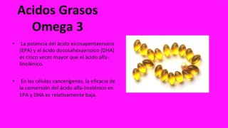 OMEGA 6 VS OMEGA 3 [VIDEO GRATIS]